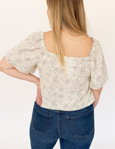 Dot Blouse Top