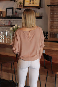 Ruffle Blush Blouse