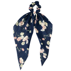 Darling Scrunchie Navy Floral