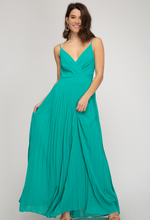 Jade Green Maxi Dress