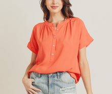 Clementine Button Blouse