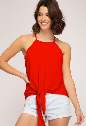 Red Knot Tank Top