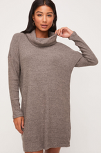 Grey Light-Weight Sweater Dress