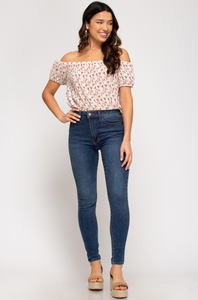 Tiny Florals Top