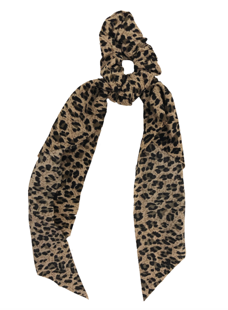 Leopard Darling Scrunchie