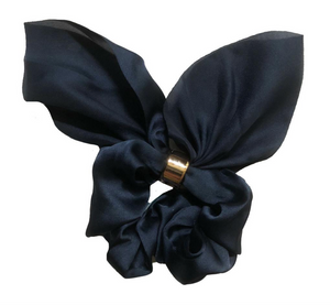 Solid Bow Scrunchie