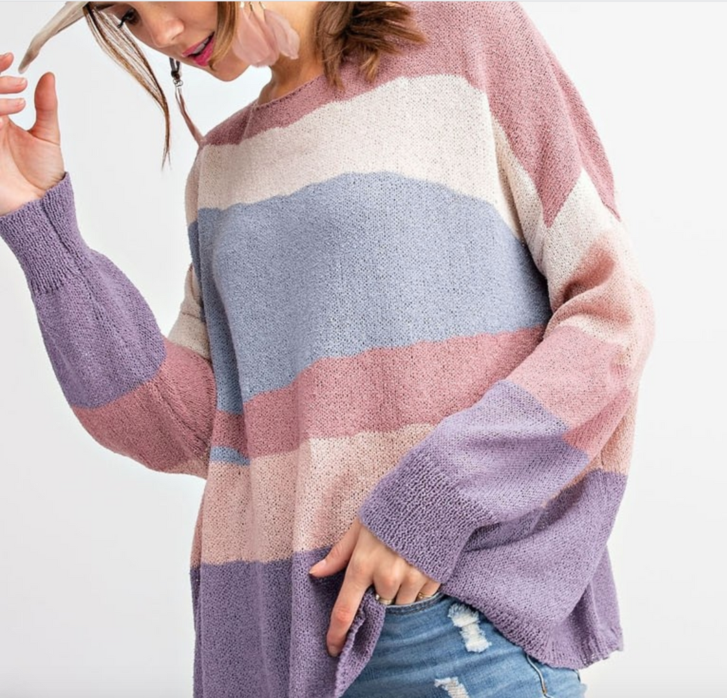 Pastel Patch Sweater