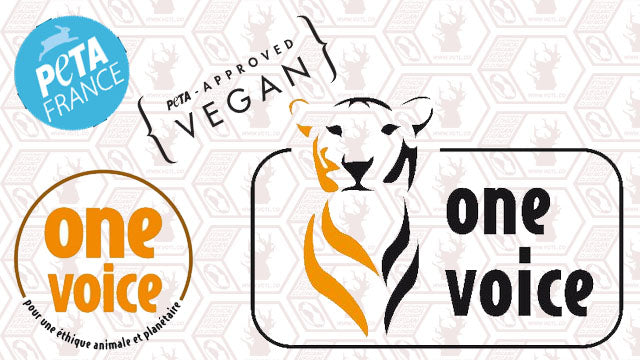 ONE VOICE, PETA & ANIMAL FREE