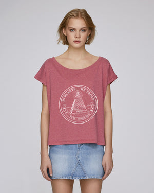 IN PLANTS WE TRUST - CROP TOP