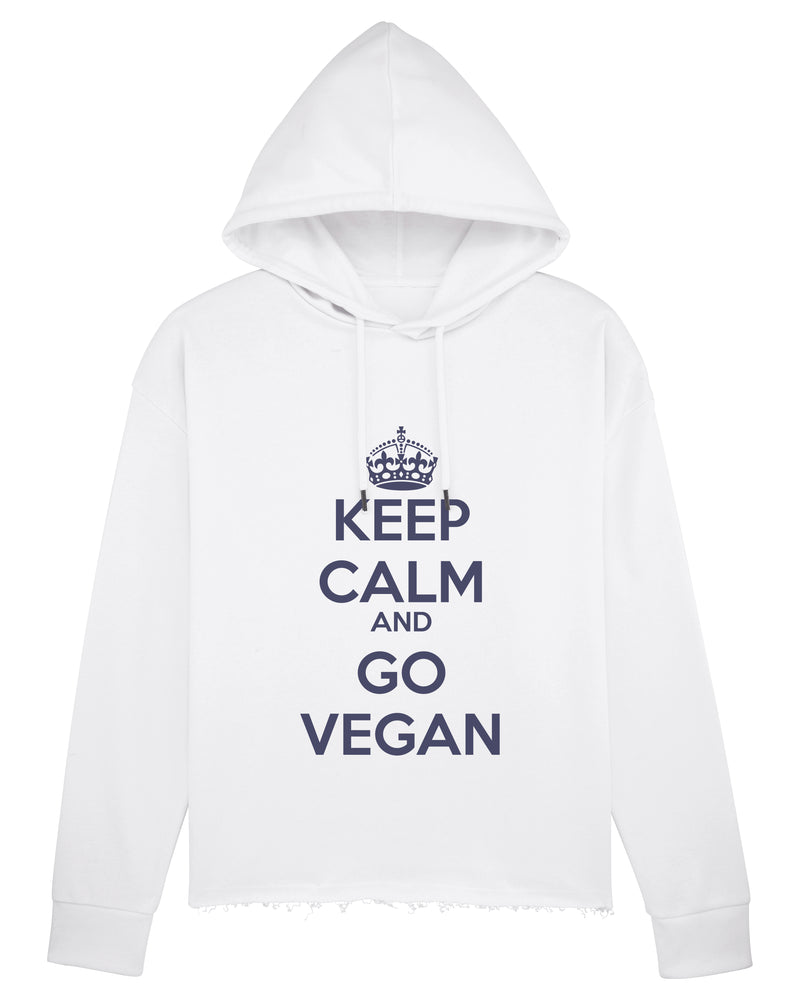 KEEP CALM AND GO VEGAN - Hoodie