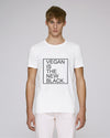 VEGAN IS THE NEW BLACK - T-shirt homme - coton bio