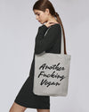 "Tote bag - ""ANOTHER FUCKING VEGAN"""