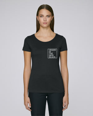 VEGAN IS THE NEW BLACK - T-SHIRT - MODAL