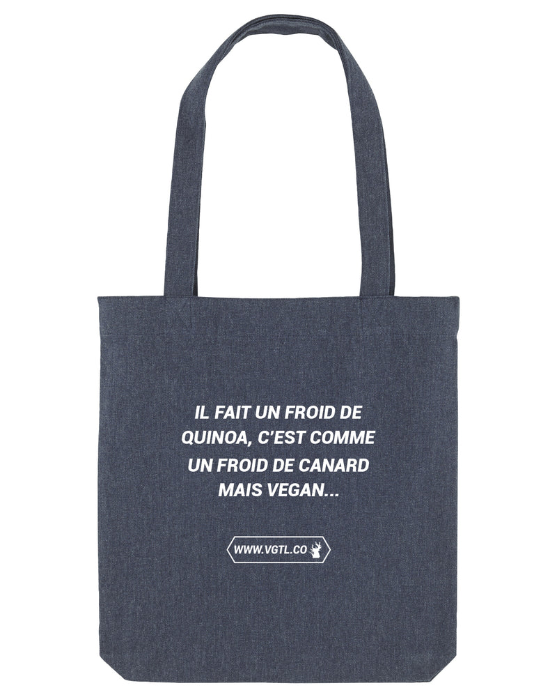 "Tote bag - ""FROID DE QUINOA"""