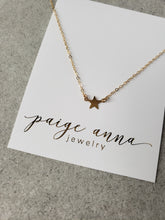 Solid Star Necklace