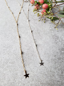 Shooting Star Lariat Necklace