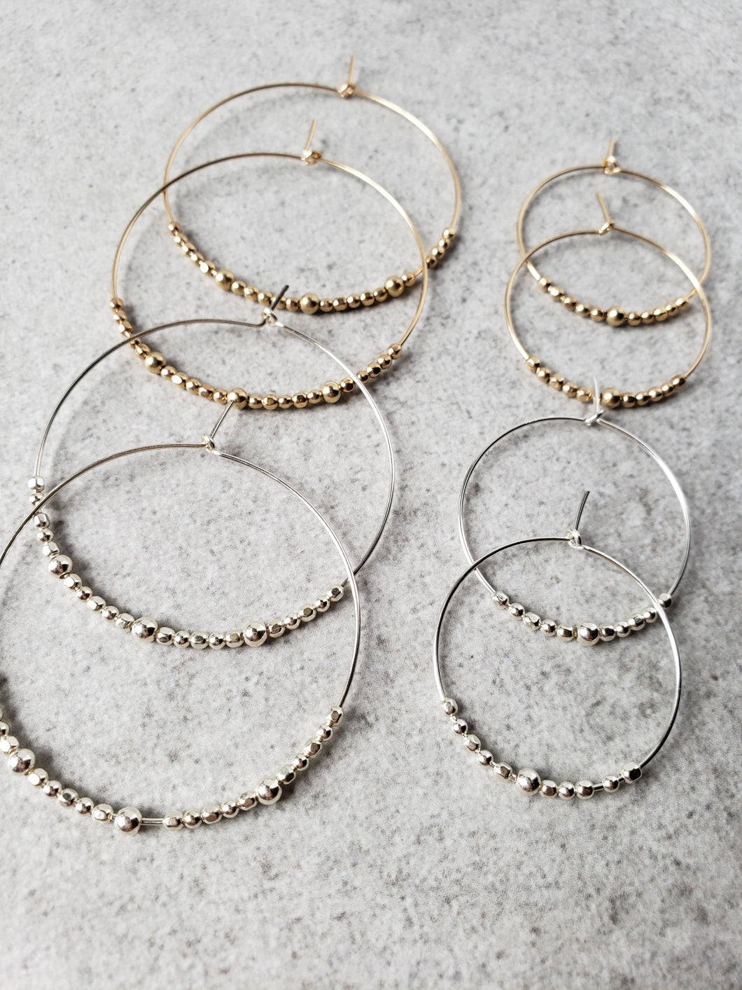 Stars Aligned Hoop Earrings