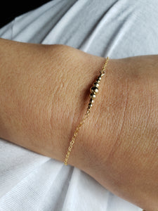 Stars Aligned Bar Bracelet