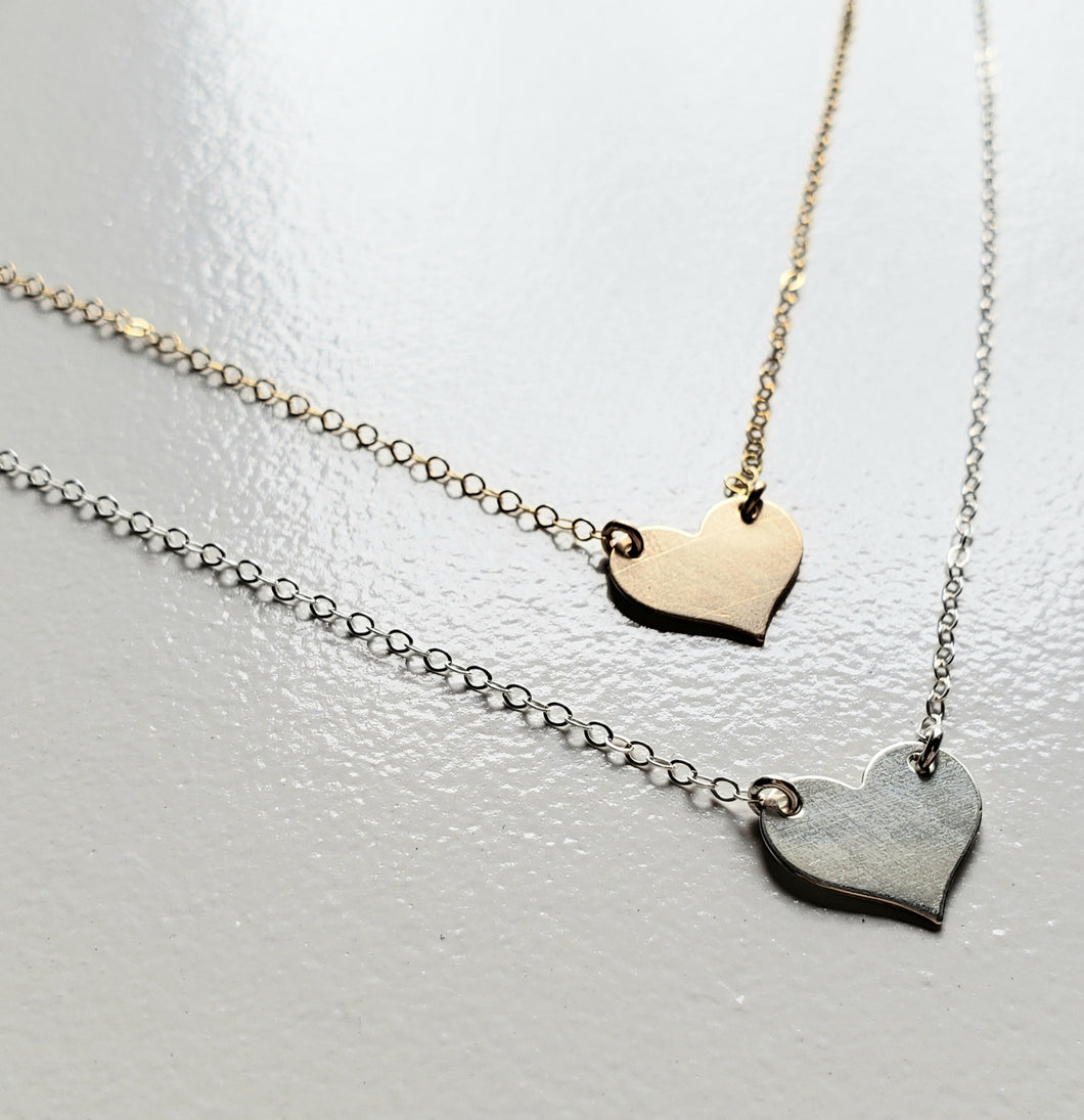 Act of Kindness Heart Necklace