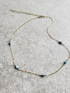Segmented Evil Eye Necklace