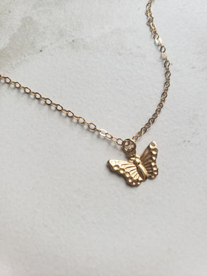 Act of Kindness Butterfly Charm Necklace