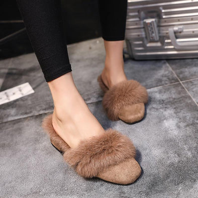 Autumn Winter Semi Baotou Warm Slippers | TeresaClare