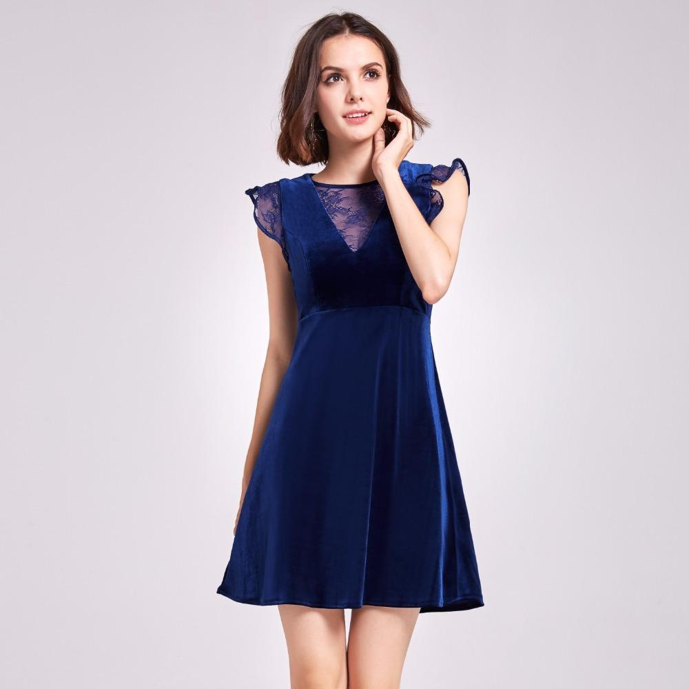 9b67a9f0f7a A-Line V-Neck Short Sleeves Knee-Length Cocktail Dress On Sale! –  TeresaClare