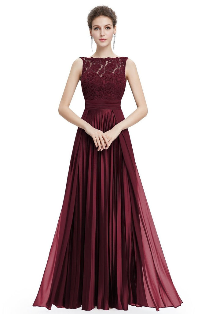 9051a565a6 Shop Gorgeous Formal Round Neck Lace Long Sexy Red Special Occasion Dress  Now! – TeresaClare