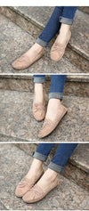 Casual Bowtie Loafers Sweet Candy Color Women Flats | TeresaClare