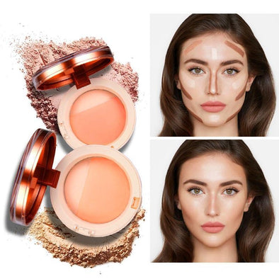 Cocoser Bronzer Highlighter Face Powder Makeup Glow Kit | TeresaClare