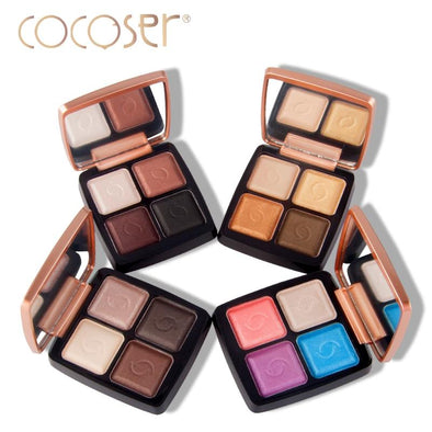 Cocoser Eye-shadow Bright Makeup Mineral 4 Colors/Sets | TeresaClare