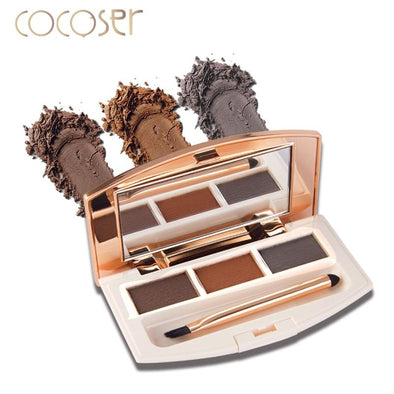 Cocoser Eyebrow Enhancer Makeup 3 Colors Long Lasting | TeresaClare