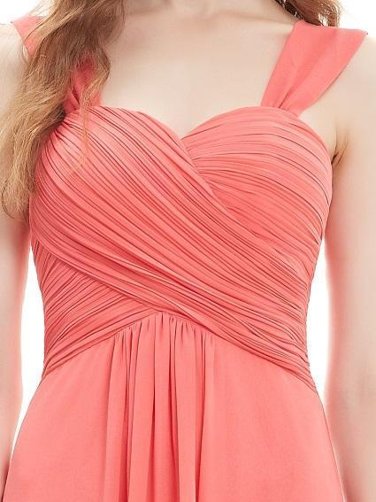 Coral A-Line Sweetheart Knee-Length Homecoming Dress | TeresaClare