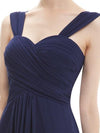 Dark Blue A-Line Sweetheart Knee-Length Homecoming Dress | TeresaClare