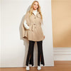 Elegant Button Front Adjustable Single Breasted Coat | TeresaClare