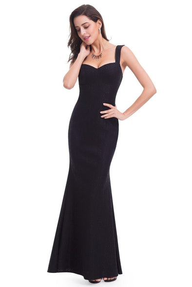 Evening Sexy Slip Lace Black Dress | TeresaClare