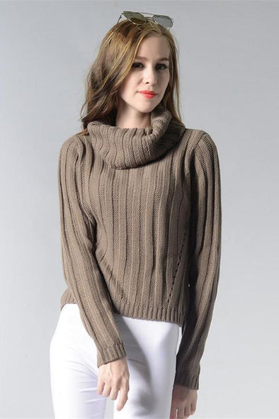 Fashion Knitted Pullovers Trendy Casual Sweater | TeresaClare