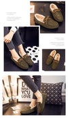 Fashion Leather Casual Wool Winter Flats Shoes For Woman | TeresaClare