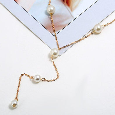 Fashion Necklaces Jewelry Simulated Pearl Pendant | TeresaClare