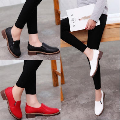 Fashion Women Flat Shoes Round Toe Oxford Shoes | TeresaClare