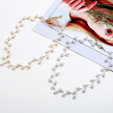 Korean Style Fashion Short Imitation Pearl Necklace | TeresaClare