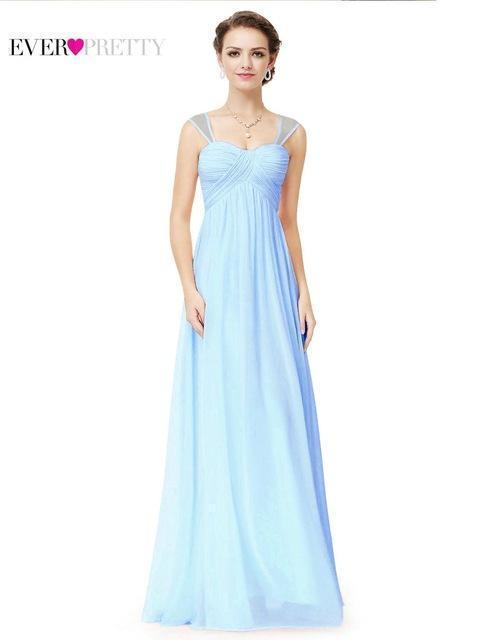 Empire Sweetheart Neckline Chiffon Prom Dress With Pleats And ...
