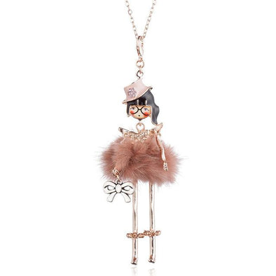 Lovely Girl Doll Necklaces & Pendants Fashion Dress | TeresaClare