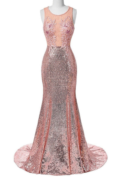 Luxury Long Prom Dress With Sequins Beading And Lace | TeresaClare