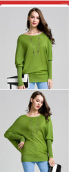 O-neck Fashion Candy Color Knitted Pullovers Sweater | TeresaClare