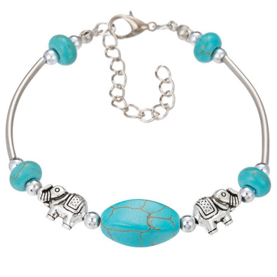 Retro Cute Elephant Adjustable Chain Bracelet | TeresaClare