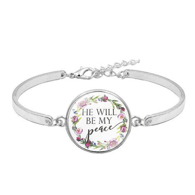 Style 11 Bible Verse Courage Faith Love Charm Bracelets | TeresaClare