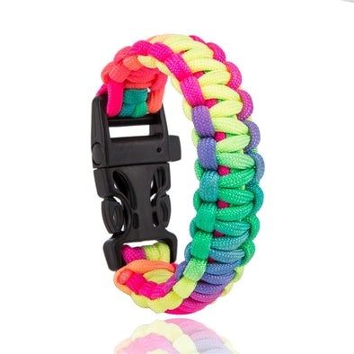 Survival Paracord Outdoor Camping Hiking Buckle Wristband | TeresaClare
