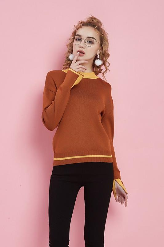 Sweater For Women Fashion Long Sleeve O-Neck | TeresaClare