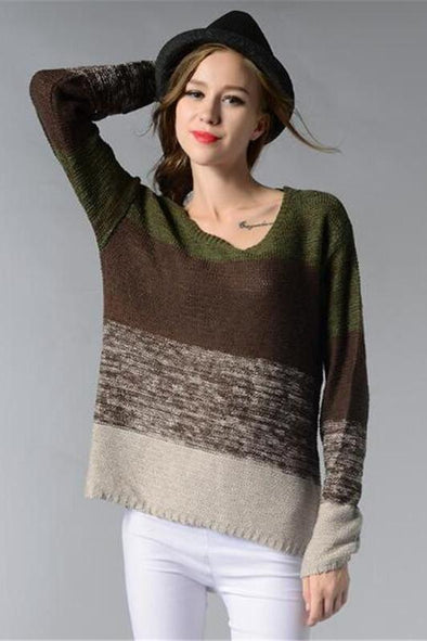 Sweaters For Women Fashion O-neck Knitted Pullovers | TeresaClare